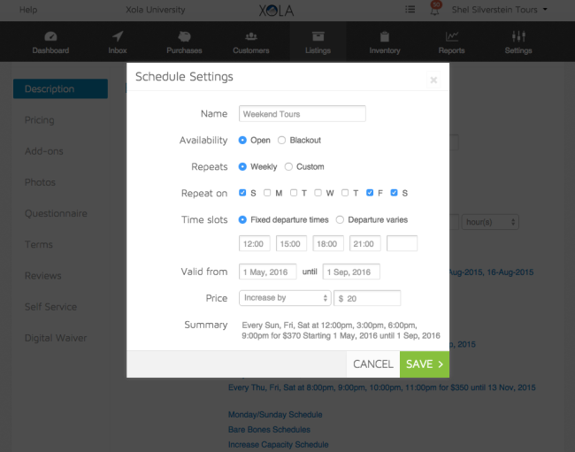 xola-booking-software-schedule-tour-operators