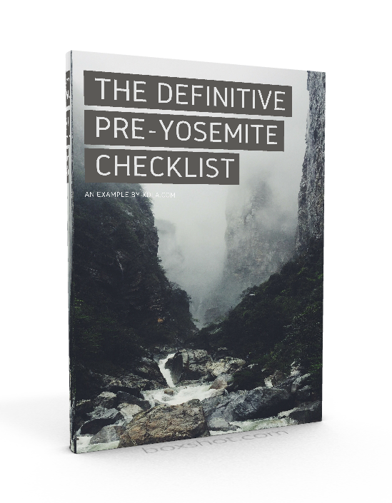 The Definitive Pre-Yosemite Checklist