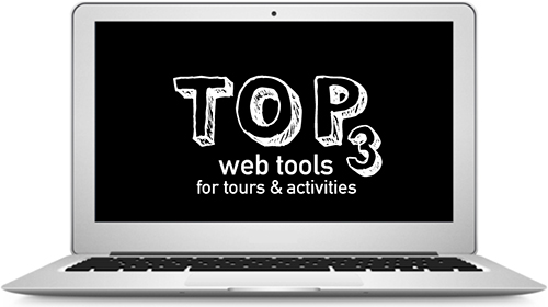 top 3 web tools for tours and activities