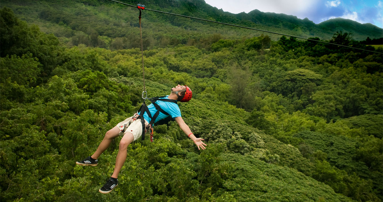 Guide Management Turning Zip Line Challenges Into